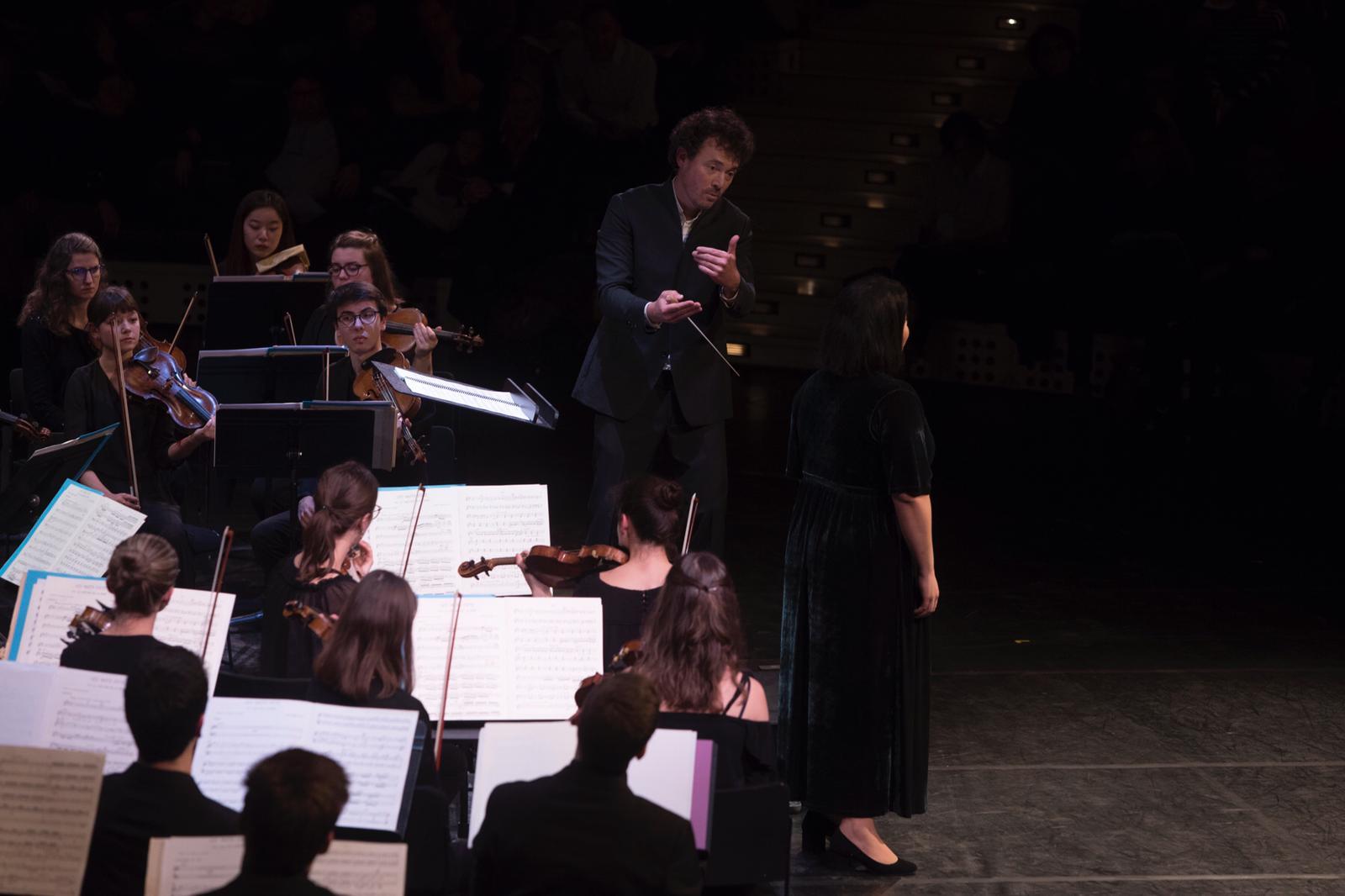 Et la musique devient poésie à l'Opéra Bastille